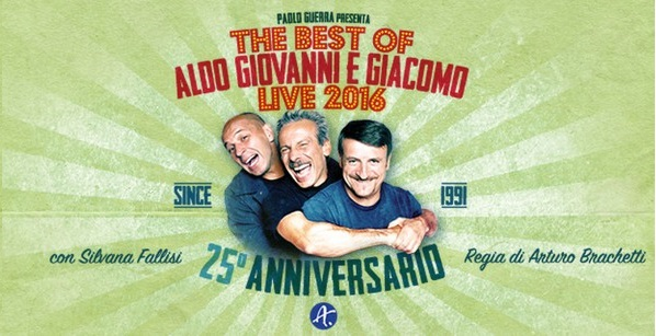 The Best of Aldo Giovanni e Giacomo Live 2016 - Acireale