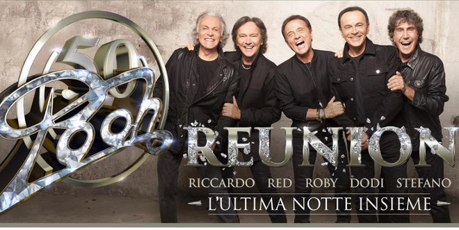 Concerto Pooh - Reunion - L'ultima notte insieme 2016 - Messina